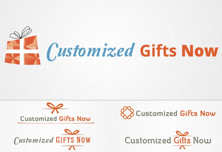 Customized Gift Now Logo