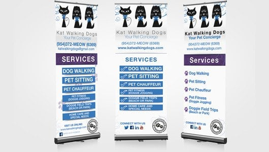 Kat Walking Dogs Rollup Banner_feature