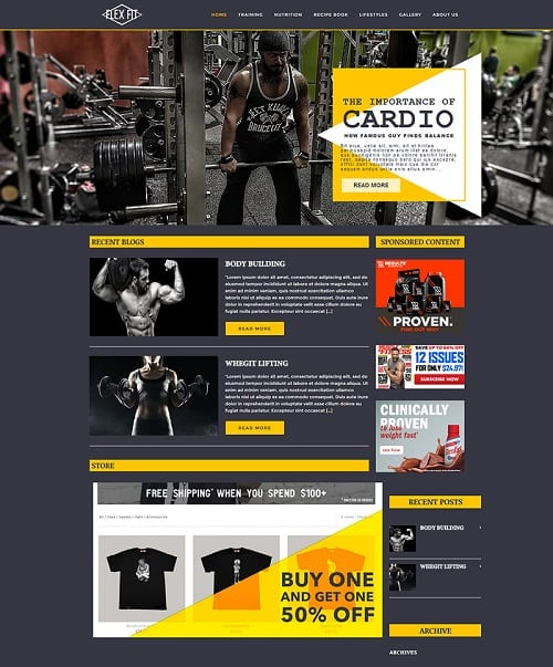 Miami Personal Training Website Design